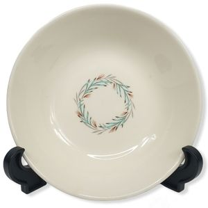 Taylor Smith 1950 Taylor Fortune Wreath Dish Bowl